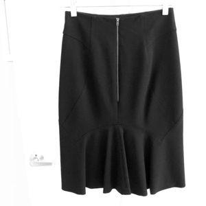 Dresses & Skirts - 6267 - Black pencil skirt w/flare on backside